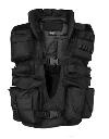 Mil-Tec tactical vest met kraag zwart nu €39,95 Aanbod Kleding